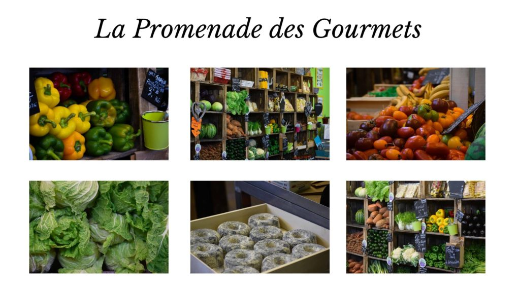 Légumes, Fruits, Fromages